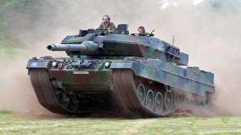 leopard 2a6 heer, техника, военная техника, танк