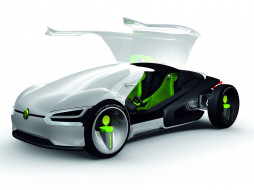 volkswagen ego concept 2008, автомобили, 3д, 2008, ego, volkswagen, concept