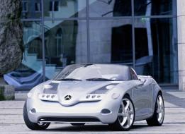 mercedes-benz vision sla concept 2000, автомобили, mercedes-benz, 2000, concept, sla, vision