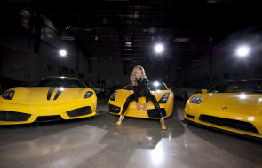 автомобили, -авто с девушками, взгляд, девушка, автомобиль, фон