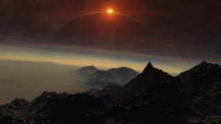3д графика, атмосфера, настроение , atmosphere ,  mood , планеты, поверхность