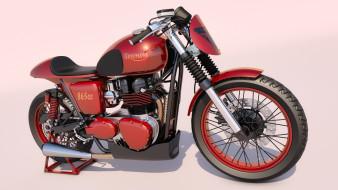 мотоциклы, 3d, фон, мотоцикл