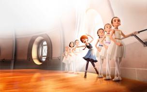 мультфильмы, ballerina