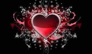 праздничные, день святого валентина,  сердечки,  любовь, сердечко, фон