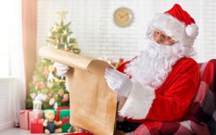 праздничные, дед мороз,  санта клаус, борода, колпак
