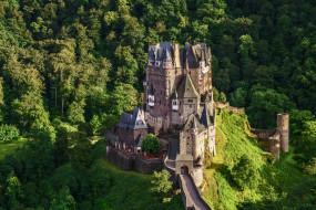 eltz castle - germany, города, замки германии, горы, замок