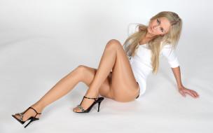 девушки, -unsort , блондинки, туфли