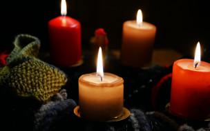 разное, свечи, огоньки