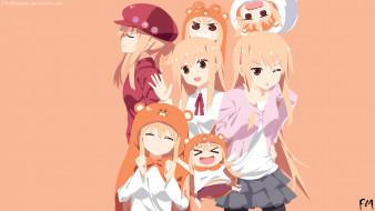 аниме, himouto umaru-chan, персонажи