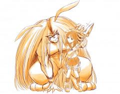 аниме, ushio to tora, персонажи