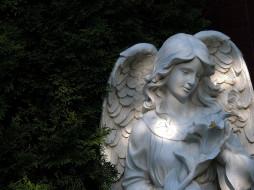 разное, садовые и парковые скульптуры, ангел
