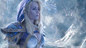 разное, cosplay , косплей, world, of, warcraft, cosplay, mahou, jaina, proudmoore, blonde, girl