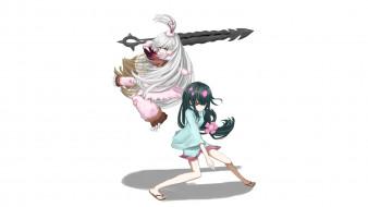 обои для рабочего стола 1920x1080 аниме, katanagatari, девочка