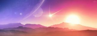 3д графика, атмосфера, настроение , atmosphere ,  mood , вселенная, планеты, поверхность