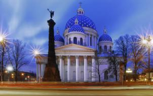 Троице-Измайловский собор обои для рабочего стола 2076x1308 троице-измайловский собор, города, санкт-петербург,  петергоф , россия, санкт-, петербург, троице-измайловский, собор