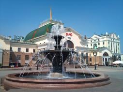 красноярск, города, - здания,  дома, вокзал