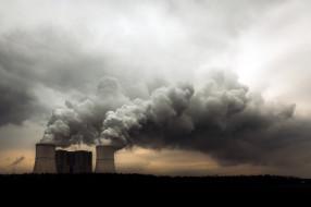 города, - пейзажи, трубы, экология, дым