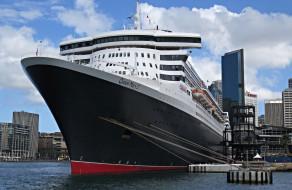 queen mary 2, корабли, лайнеры, лайнер, круиз