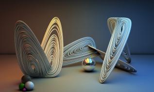 3д графика, абстракция , abstract, цвета, фон, узор