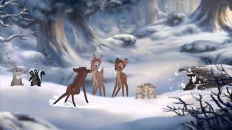 мультфильмы, bambi 2, bambi, 2