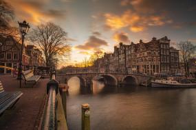 amsterdam, города, амстердам , нидерланды, столица
