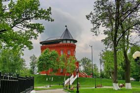 владимир, города, - здания,  дома, музей, башня