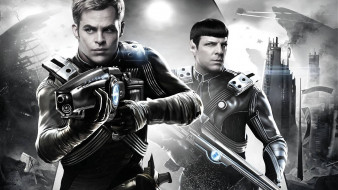кино фильмы, star trek into darkness, коллаж
