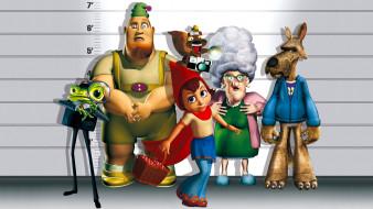 мультфильмы, hoodwinked, персонажи