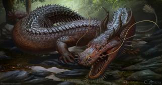 фэнтези, драконы, существо, монстр, чудовище, дракон