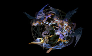 аниме, magi the labyrinth of magic, крылья