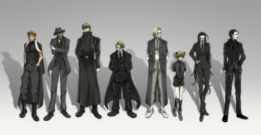 аниме, hellsing, schrodinger, vampire, millennium, forces, doctor, zorin, blitz, rip, van, winkle, heinkel, wolfe, major