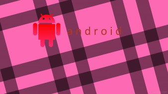 компьютеры, android, логотип, фон