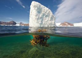 обои для рабочего стола 1920x1367 природа, айсберги и ледники, айсберг, океан