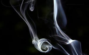 разное, - другое, дым, клубы, завитки