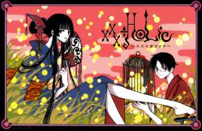 аниме, xxxholic, двое