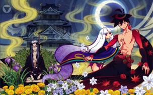 аниме, katanagatari, персонажи