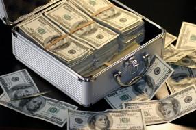 разное, золото,  купюры,  монеты, валюта, банкноты, пачки, чемодан, доллары