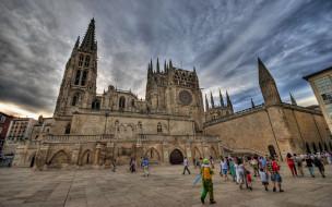 города, - католические соборы,  костелы,  аббатства, кафедральный, собор, город, бургос