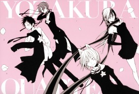 аниме, yozakura quartet, yozakura, quarte