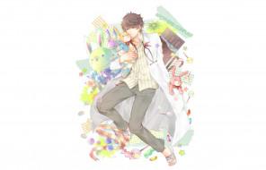 аниме, brothers conflict, парень