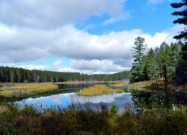 обои для рабочего стола 2560x1855 природа, реки, озера, деревья, вода