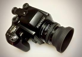 pentax 645n, бренды, pentax, фотокамера
