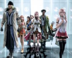 видео игры, final fantasy xiii, последняя, фантазия