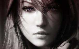 видео игры, final fantasy xiii, девушка