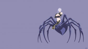 аниме, monster musume no iru nichijou, паук