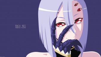 аниме, monster musume no iru nichijou, девушка, взгляд, фон