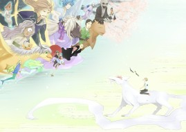 аниме, natsume yuujinchou, тетрадь, дружбы