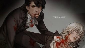аниме, tiger and bunny, барнаби, котецу