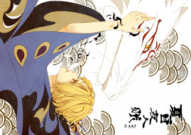 аниме, natsume yuujinchou, натсуме, няко, сенсей