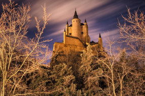 города, - дворцы,  замки,  крепости, замок, холм